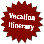 Vacation Itinerary