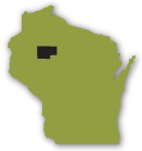 Rusk County, WI Map