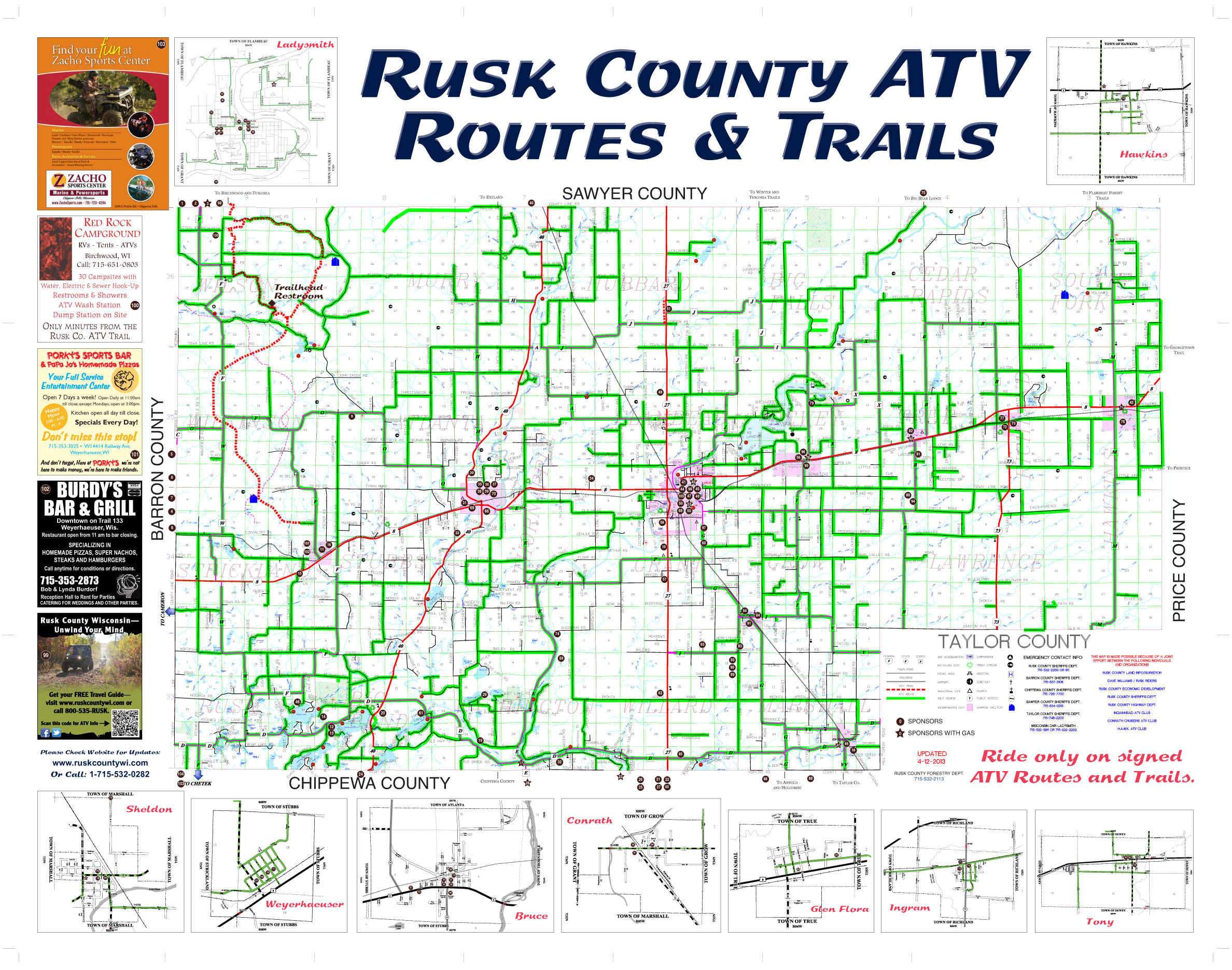 rusk county In rusk county 725 likes 18 talking about this economic and community development related information and activities for rusk county, wisconsin.